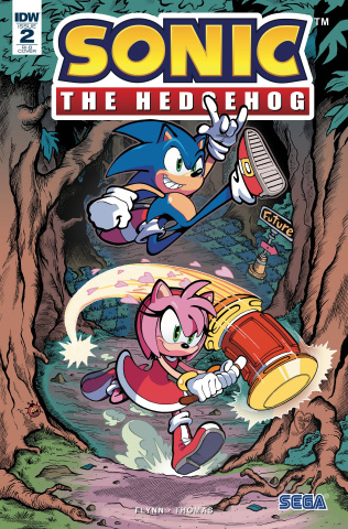 Sonic the Hedgehog #2 (25 Copy Cover)