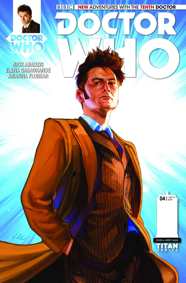 Doctor Who: New Adventures with the Tenth Doctor #4