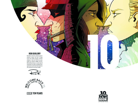 Welcome Back #1 (10 Year 10 Copy Guillory Cover)