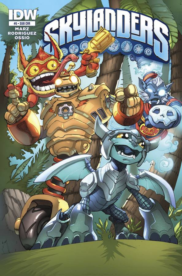 Skylanders #5 (Subscription Cover)
