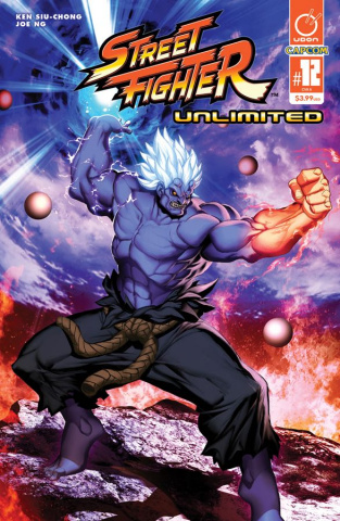 Street Fighter Unlimited #12 (Genzoman Story Cover)
