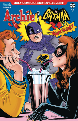 Archie Meets Batman '66 #4 (Isaacs Cover)