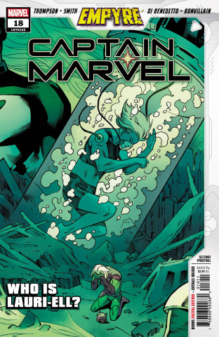 Captain Marvel #18 (Smith 2nd Printing)
