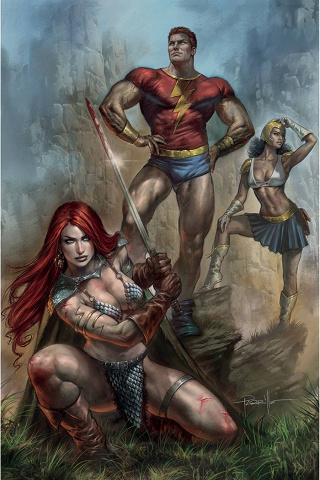 Red Sonja: The Superpowers #1 (Parrillo Virgin Cover)