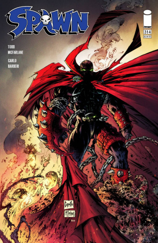 Spawn #314 (Capullo & McFarlane Cover)