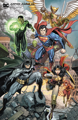 Justice League #40 (Card Stock Arthur Adams Cover)