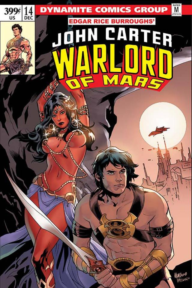 John Carter: Warlord of Mars #14 (Lupacchino Cover)