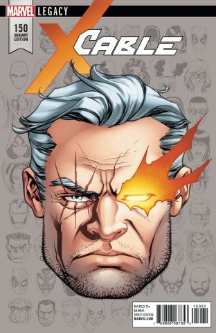 Cable #150 (McKone Legacy Headshot Cover)