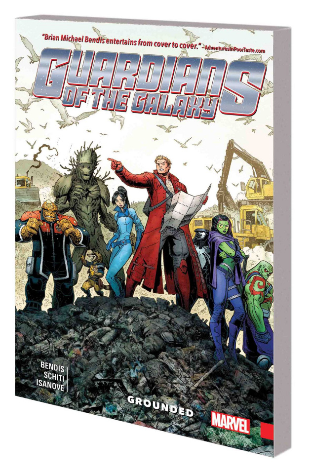 Guardians of the Galaxy: New Guard Vol. 4: Grounded