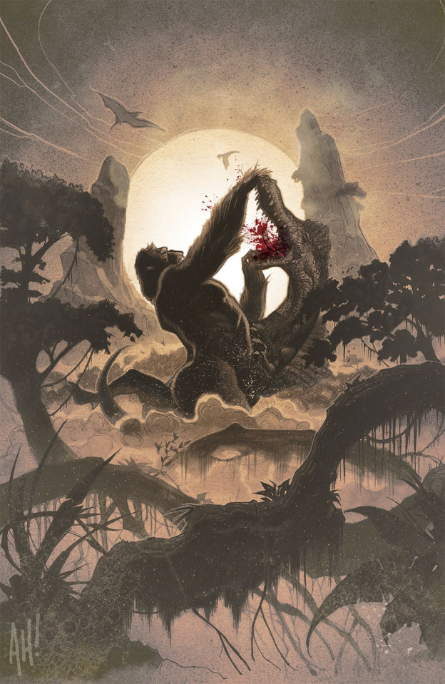 Kong of Skull Island #1 (NYCC Cover)