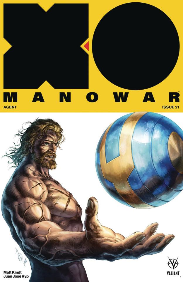 X-O Manowar #21 (Quah Cover)