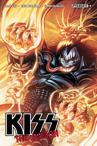 KISS: The Demon #4 (Mandrake Cover)