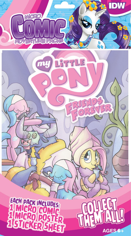 My Little Pony: Friends Forever (Micro Comic Pack)