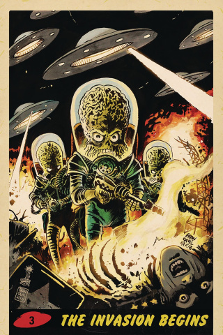 Mars Attacks #3 (10 Copy Francavilla Virgin Cover)