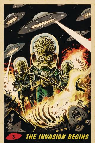 Mars Attacks #3 (10 Copy Francavilla Virgin Cover)