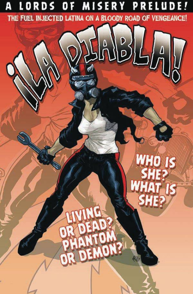 ¡La Diabla! #1 (Powell Cover)
