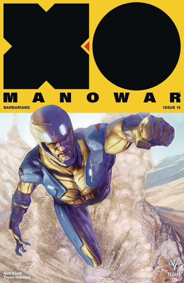 X-O Manowar #18 (50 Copy Icon Guedes Cover)