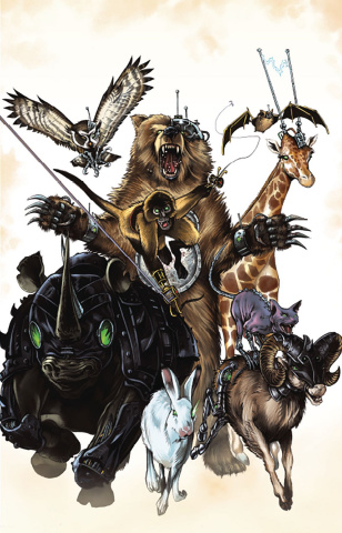 Animosity: Evolution #1 (Mike Rooth Cover)