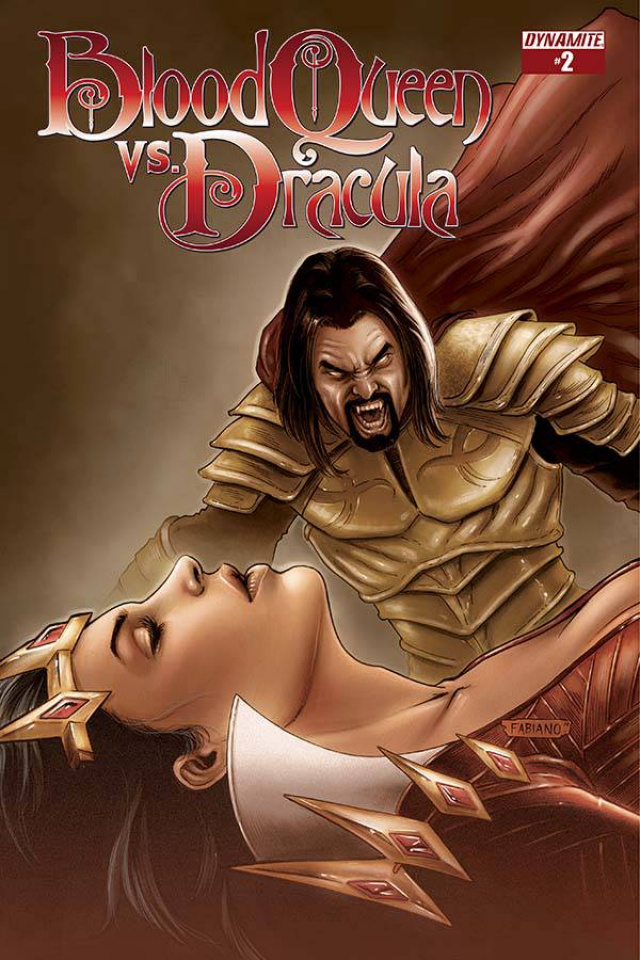Blood Queen vs. Dracula #2 (Subscription Cover)