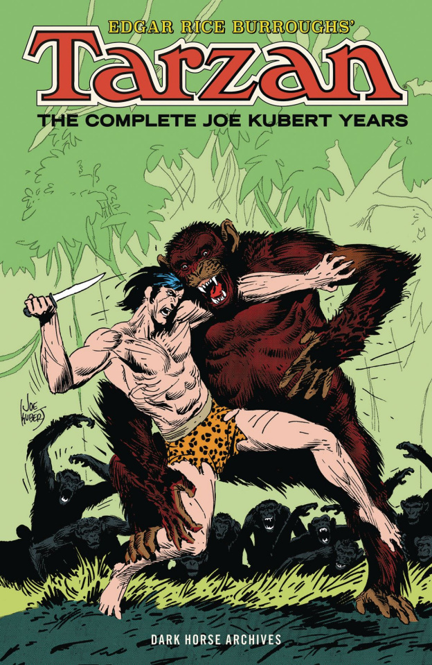 Tarzan: The Complete Joe Kubert Years