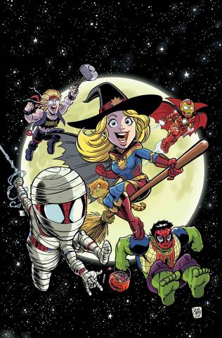 Captain Marvel Halloween Spooktacular #1