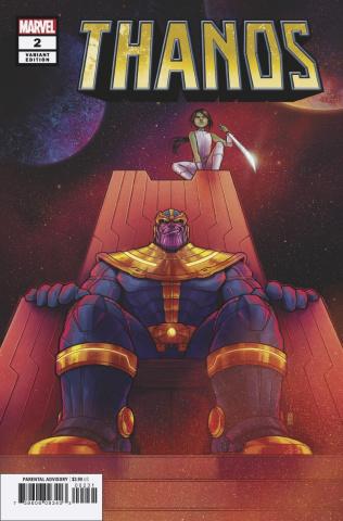 Thanos #2 (Bartel Cover)