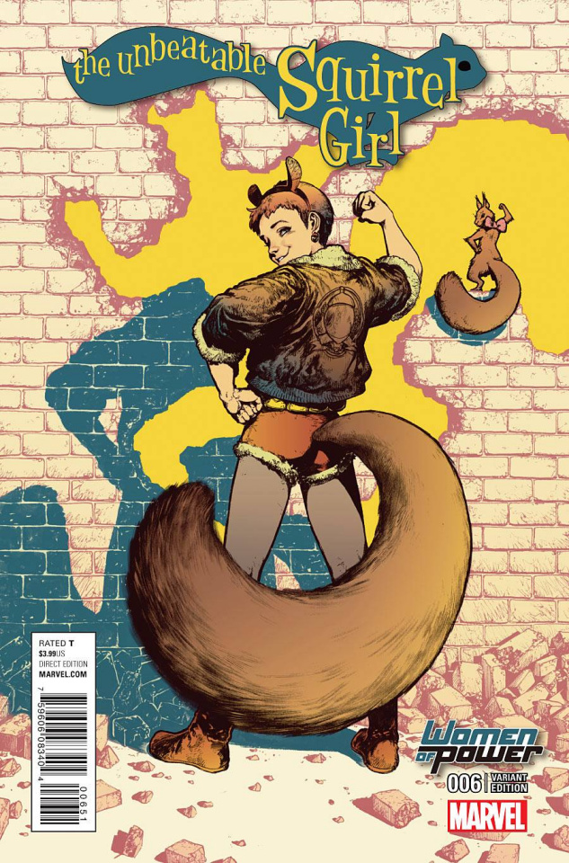 The Unbeatable Squirrel Girl #6 (WOP Cover)