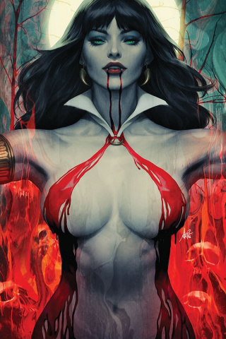 Vampirella #2 (Lau Virgin Cover)