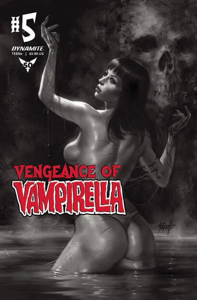 Vengeance of Vampirella #5 (11 Copy Parrillo B&W Cover)