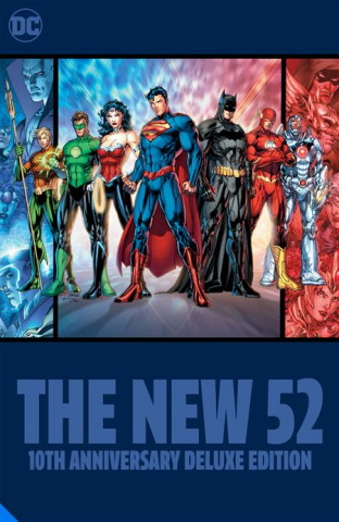The New 52: 10th Anniversary Deluxe Edition