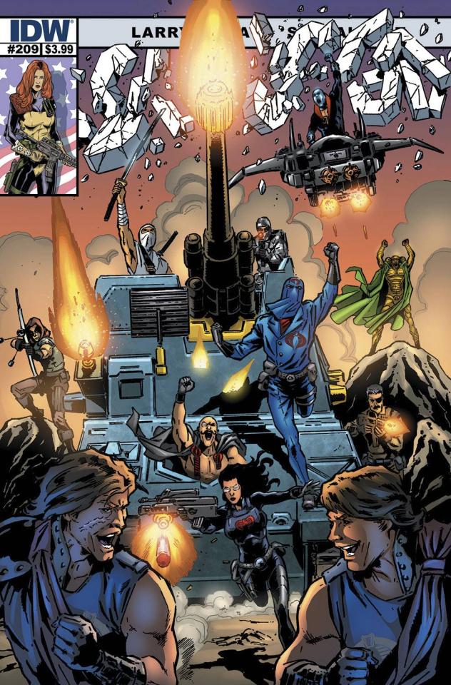 G.I. Joe: A Real American Hero #209