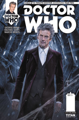 Doctor Who: New Adventures with the Twelfth Doctor, Year Two #12 (Photo Cover)