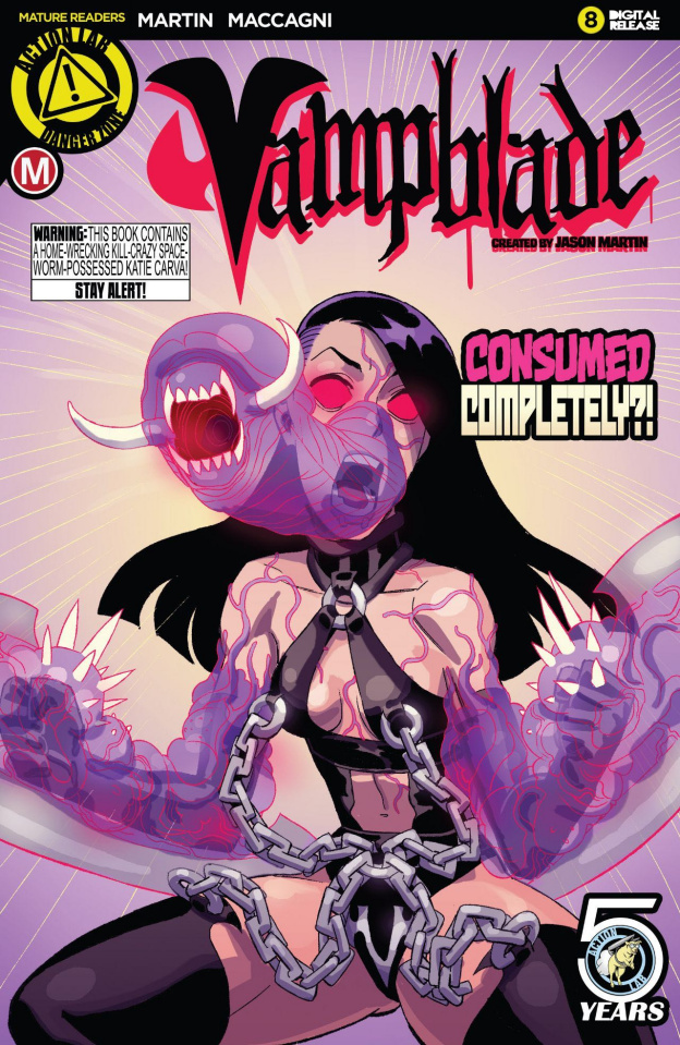 Vampblade #8 (Young Cover)