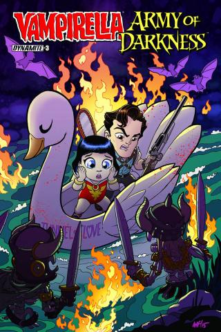 Vampirella / Army of Darkness #3 (Subscription Cover)