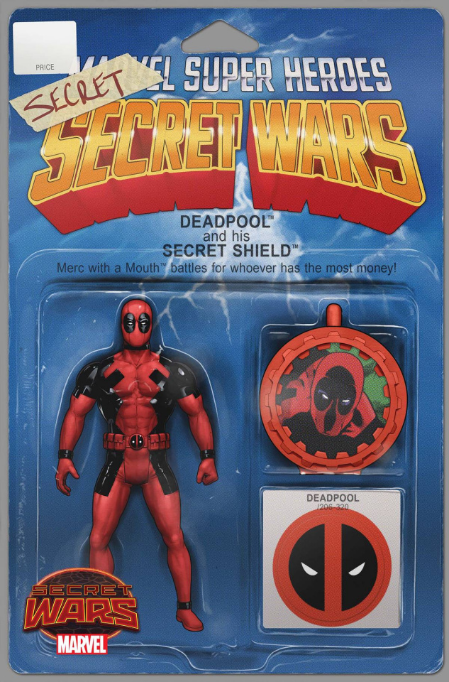 Deadpool's Secret Secret Wars #1 (Action Figure Cover)