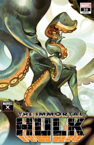 The Immortal Hulk #30 (Del Mundo Marvels X Cover)