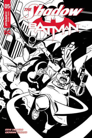 The Shadow / Batman #5 (10 Copy Charm Cover)
