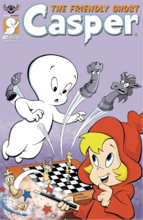 Casper, The Friendly Ghost #2 (Spooky Gallagher Cover)