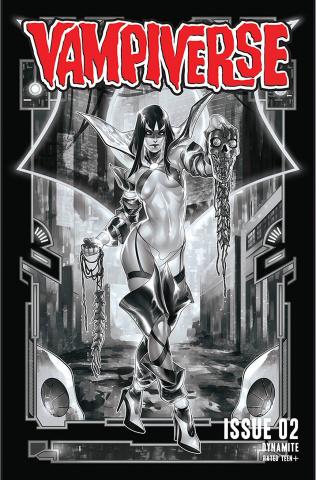 Vampiverse #2 (20 Copy Hetrick B&W Cover)