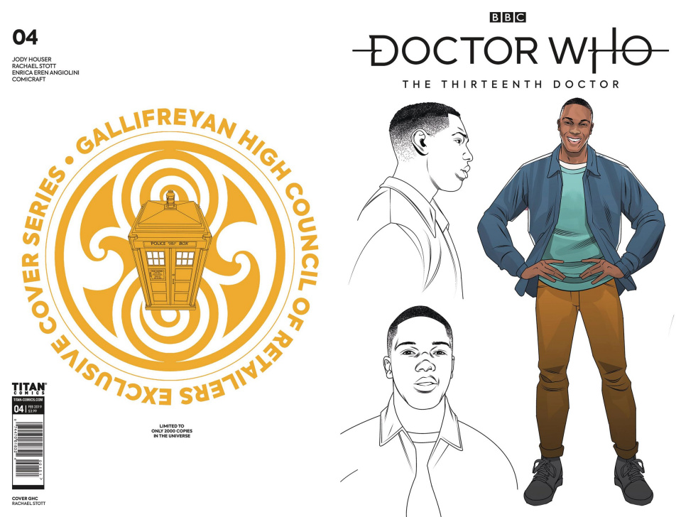 Doctor Who: The Thirteenth Doctor #4 (Gallifreyan High Council Cover)