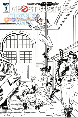 Ghostbusters: Crossing Over #1 (10 Copy Cover)