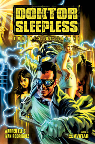 Doktor Sleepless Vol. 1: Engines of Desire