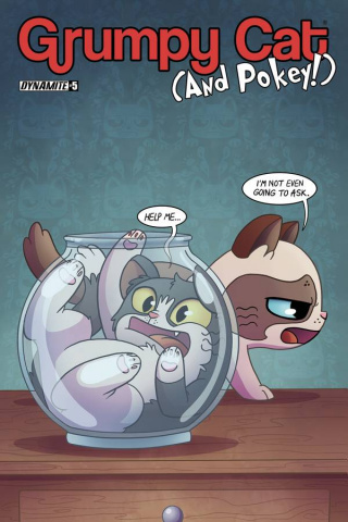 Grumpy Cat (and Pokey!) #5 (Garbowska Cover)