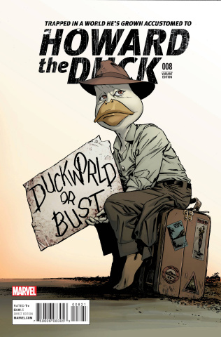 Howard the Duck #8 (Guice Classic Cover)