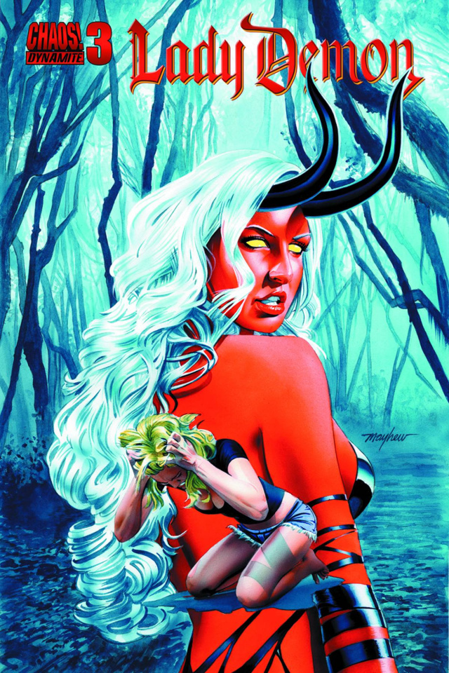 Lady Demon #3 (Mayhew Subscription Cover)
