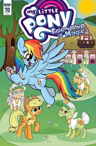 My Little Pony: Friendship Is Magic #70 (10 Copy Calbrait Cover)
