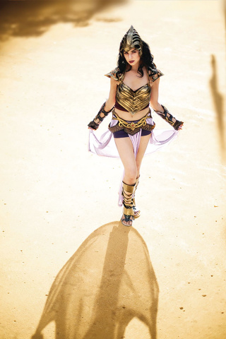 Barbarella / Dejah Thoris #2 (Barbarella Virgin Cosplay Cover)