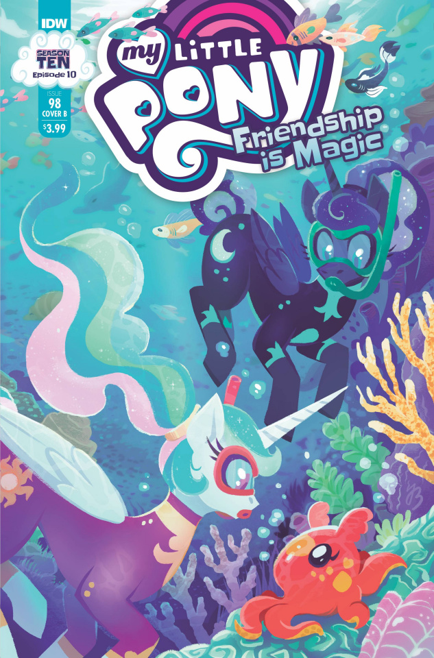 My Little Pony: Friendship Is Magic #98 (Justasuta Cover)