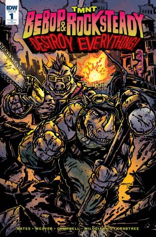 Teenage Mutant Ninja Turtles: Bebop & Rocksteady Destroy Everything #1 (25 Copy Cover)