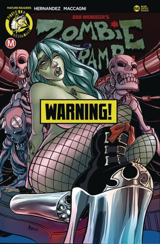 Zombie Tramp #66 (Boo Rudetoons Risque Cover)